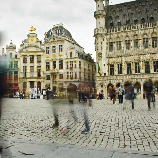 """Grand Place, Brussels"" stock image"
