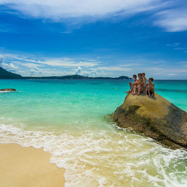 """beautiful beach"" stock image"