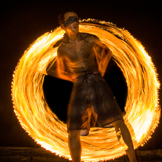 """fire dance"" stock image"