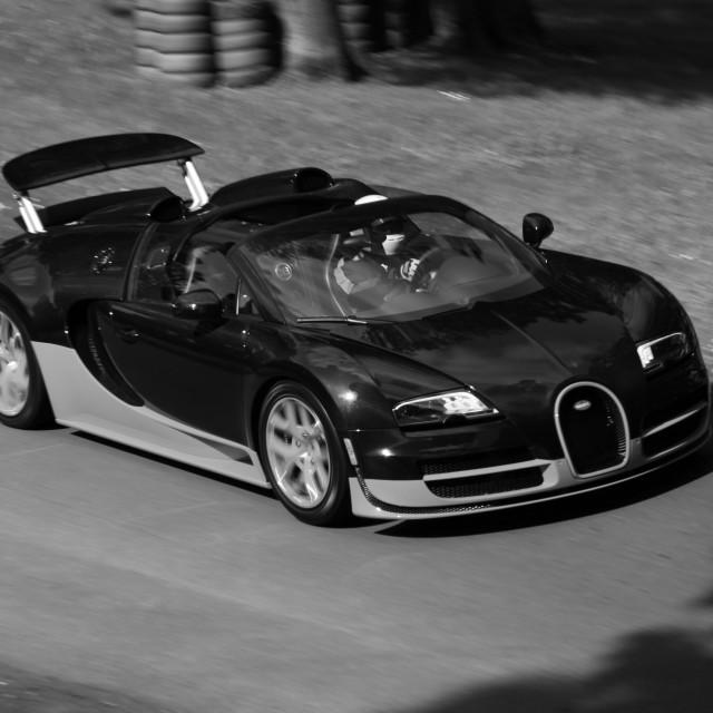 """Bugatti Veyron"" stock image"