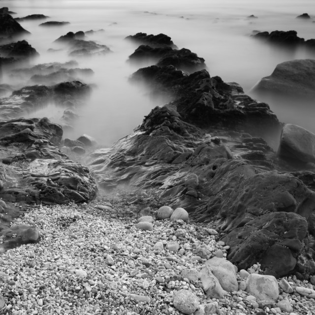 """Stormy Beach"" stock image"