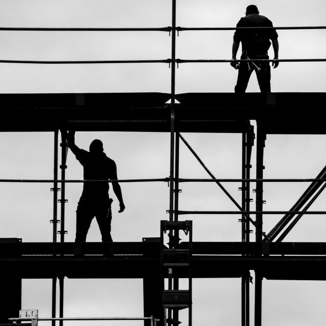 """builders"" stock image"