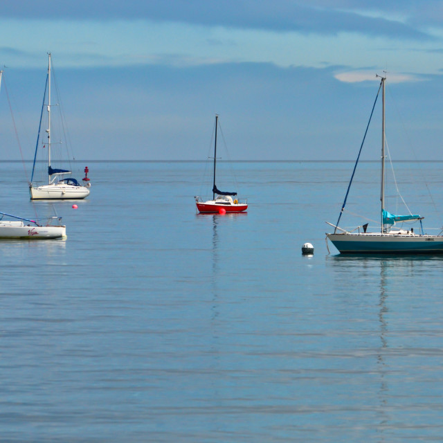"""Skerries Boats"" stock image"