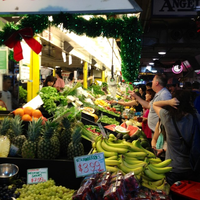 """Food Market"" stock image"