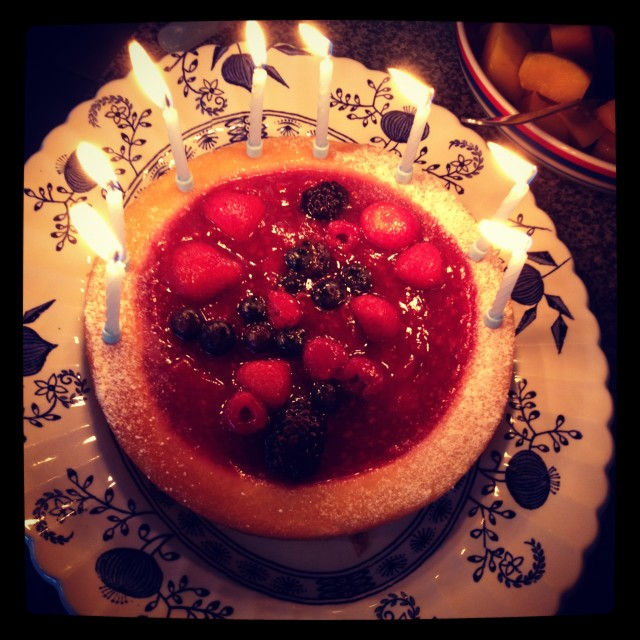 """Birthday cake"" stock image"