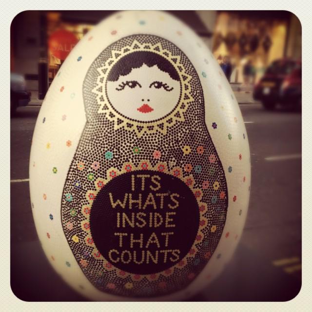 """""""Egg Hunt"""" stock image"""