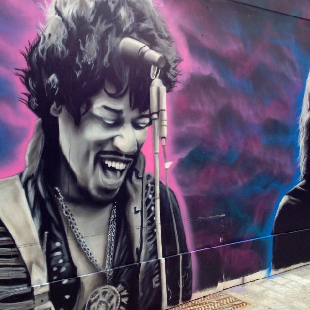 """""""Hendrix"""" stock image"""