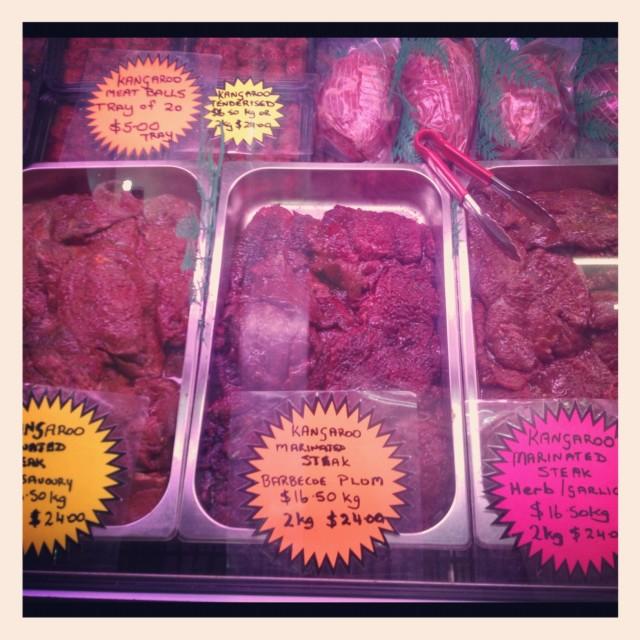 """""""Kangaroo Meat"""" stock image"""