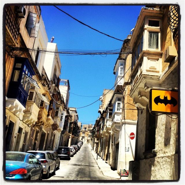"""Malta - streets"" stock image"