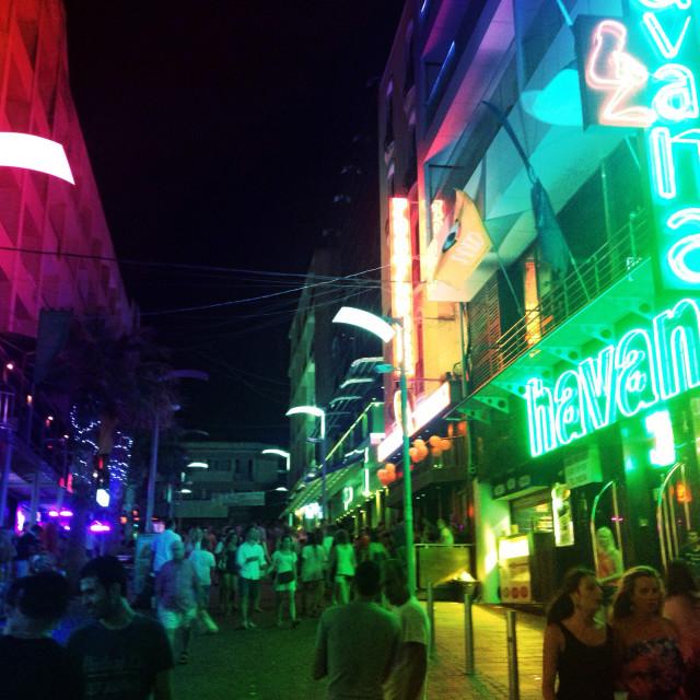 """Malta - Nightlife"" stock image"