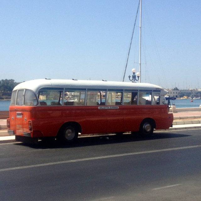 """Vintage bus"" stock image"