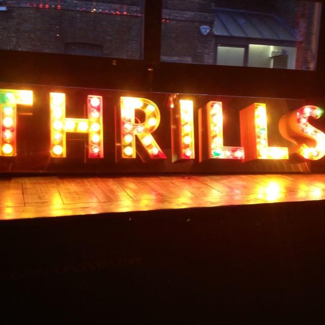 """Thrills"" stock image"