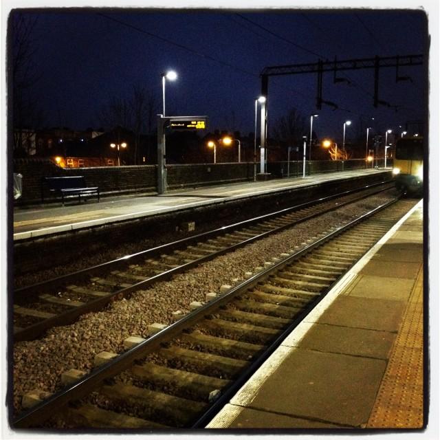 """Train Platform"" stock image"