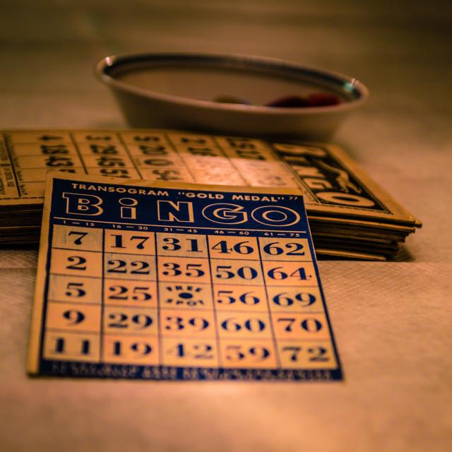"""""""Bingo!"""" stock image"""