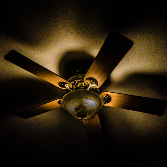 """Ceiling Fan"" stock image"