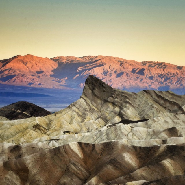 """Sunrise Death Valley"" stock image"