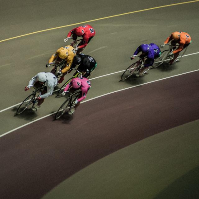 """Bicycle race"" stock image"