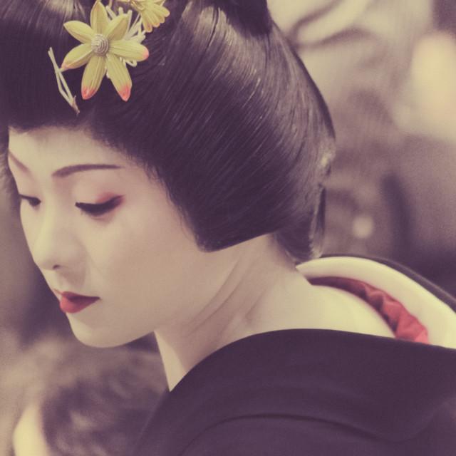 """Geisha"" stock image"