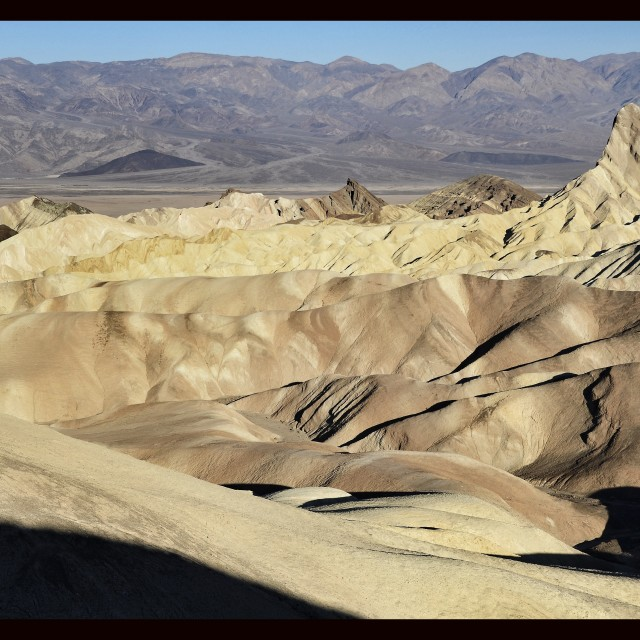 """My shadow Death Valley (full)"" stock image"