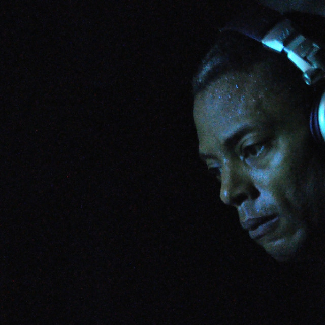 """Jeff Mills #2"" stock image"