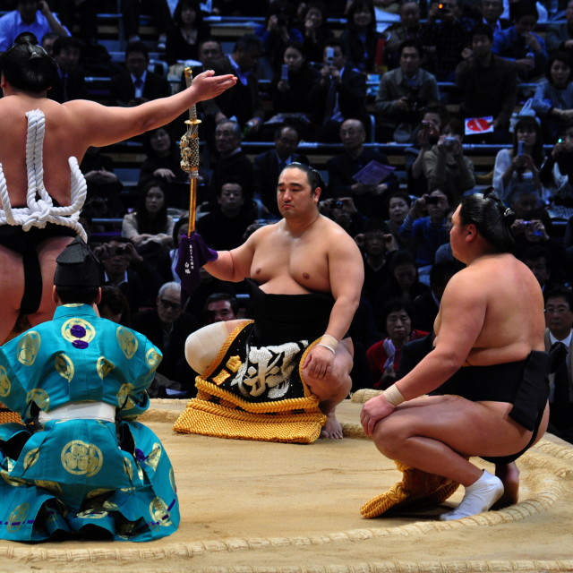 """Sumo ceremony"" stock image"