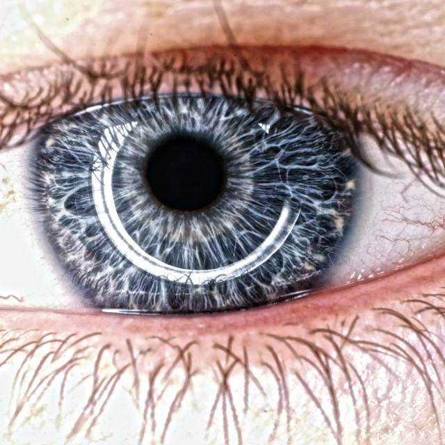 """Blue eye"" stock image"
