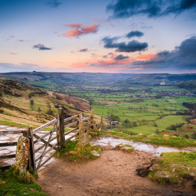 """""""Gateway to Hope Valley"""" stock image"""
