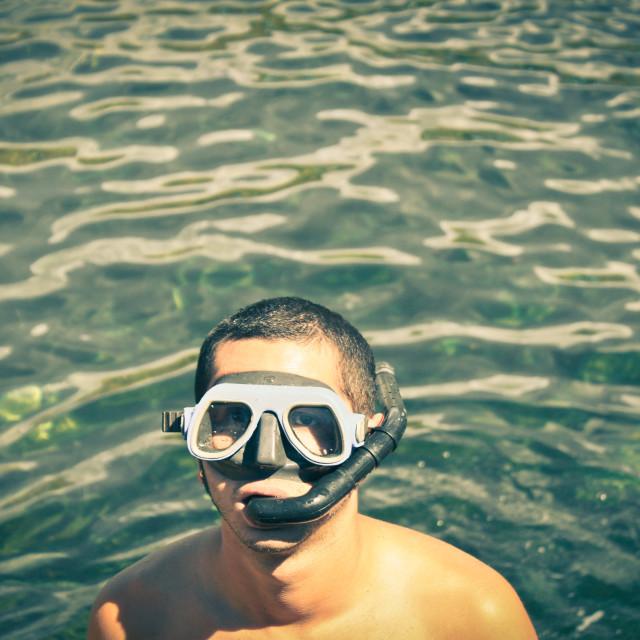 """""""amateur diver"""" stock image"""