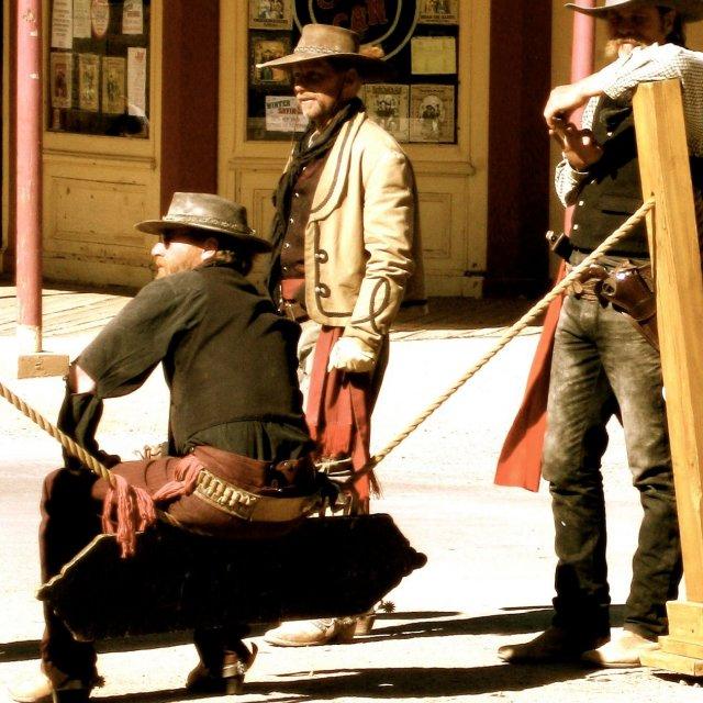 """""""Tombstone, AZ"""" stock image"""
