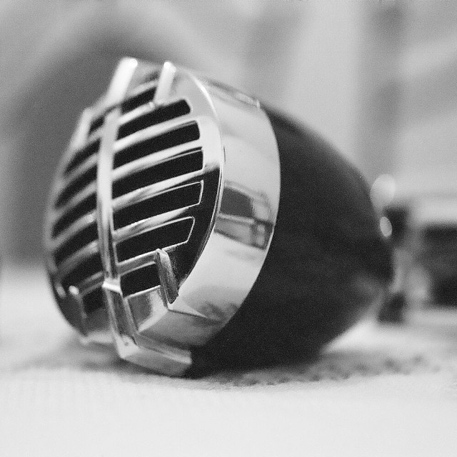 """Microphone"" stock image"