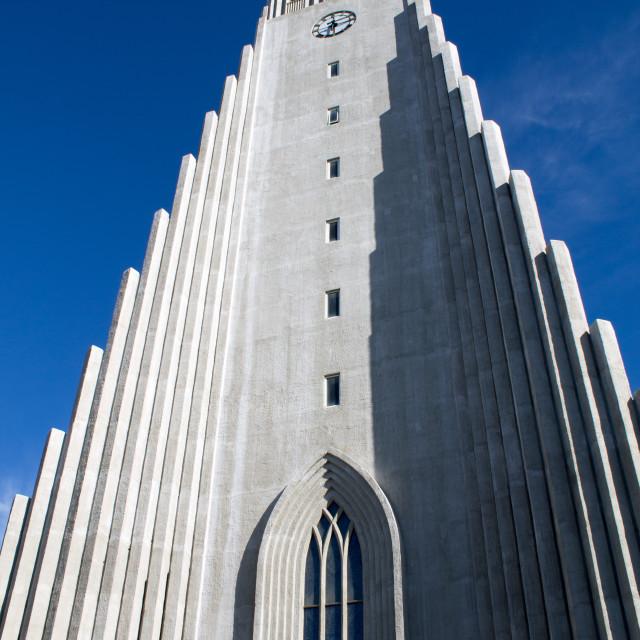 """""""Reykjavík Cathedral"""" stock image"""