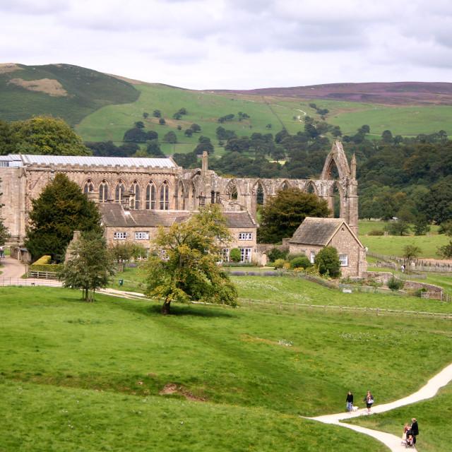 """Bolton Abbey"" stock image"