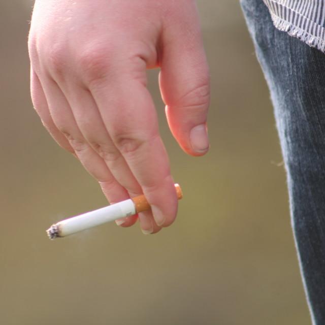 """""""Smoking Kills"""" stock image"""