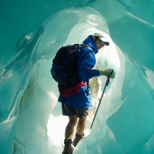 """Ice Cave"" stock image"
