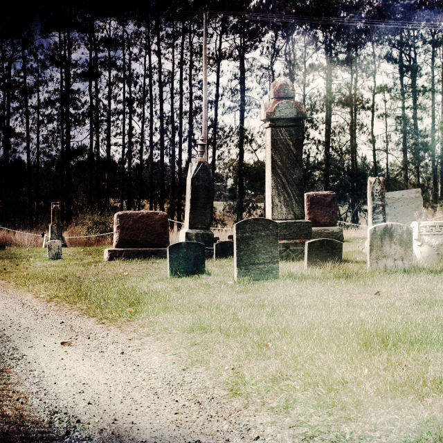 """Plainfield Cemetery"" stock image"