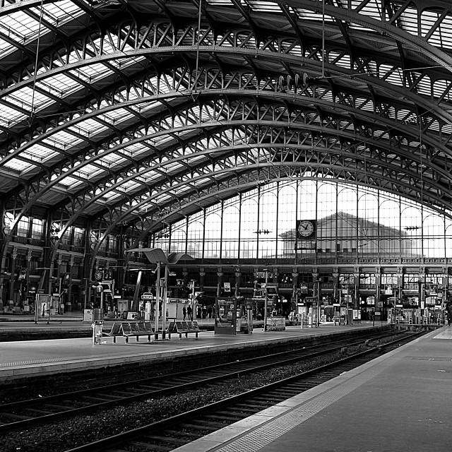 """Gare de Lille Flandres"" stock image"