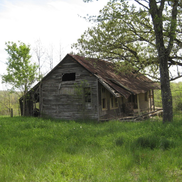 """Old Shack"" stock image"