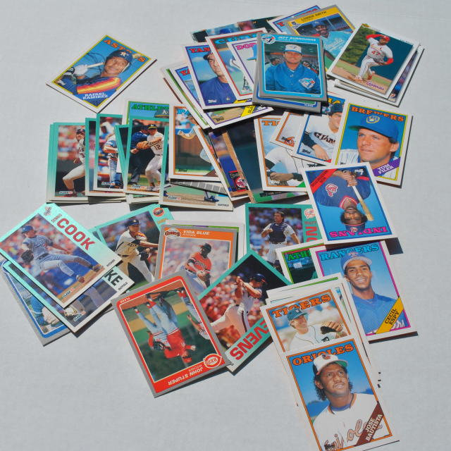 """baseball cards"" stock image"