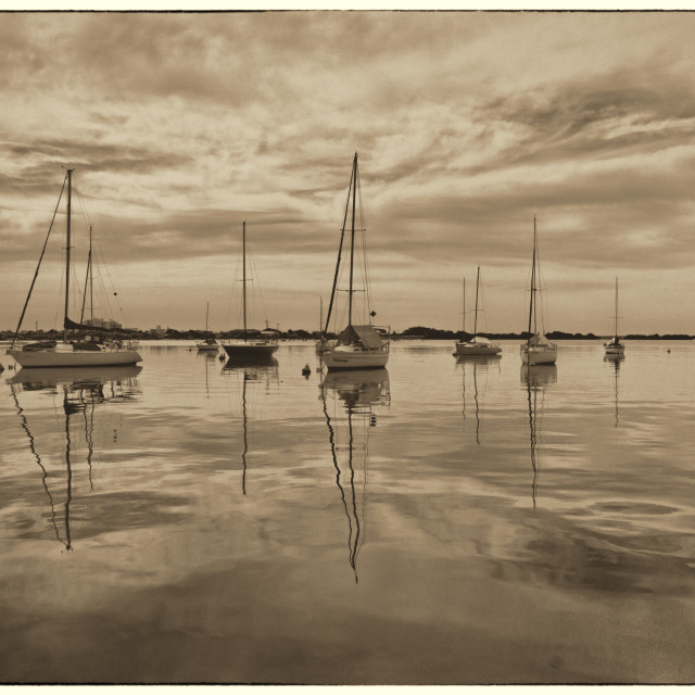 """""""The boats"""" stock image"""