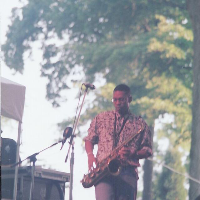 """""""Ravi Coltrane"""" stock image"""