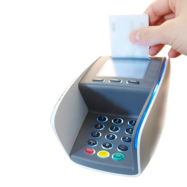 """""""Payment terminal"""" stock image"""