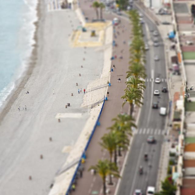 """Nice Promenade, France"" stock image"
