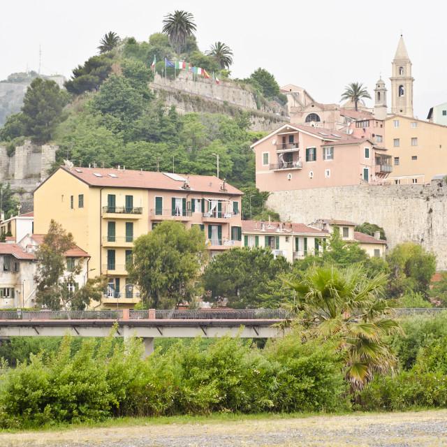 """""""Ventimiglia, Italy"""" stock image"""
