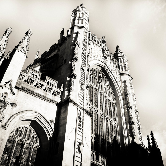 """Bath Abbey"" stock image"