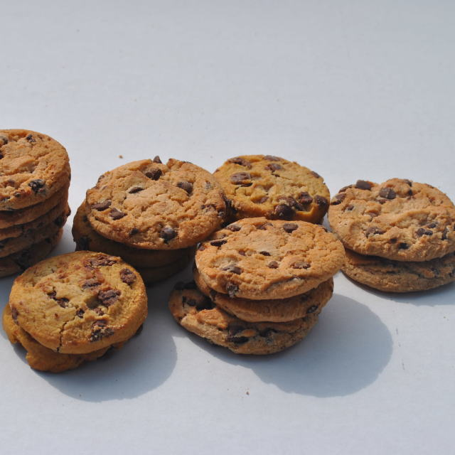 """chocolate chip coookies"" stock image"