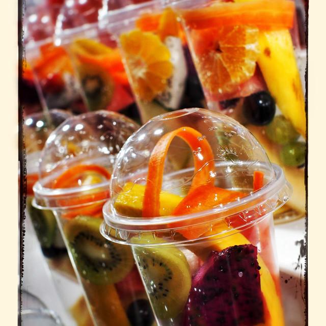 """Fresh Fruit For Smoothies"" stock image"