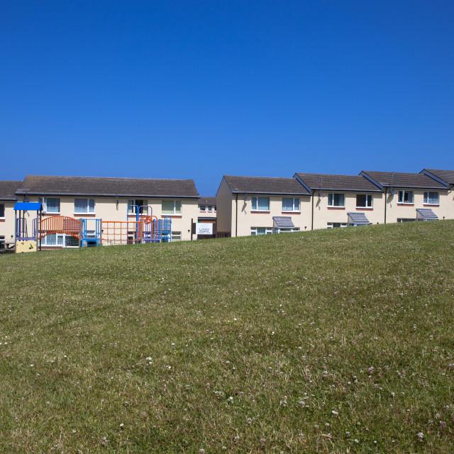"""""""Housing Estate"""" stock image"""