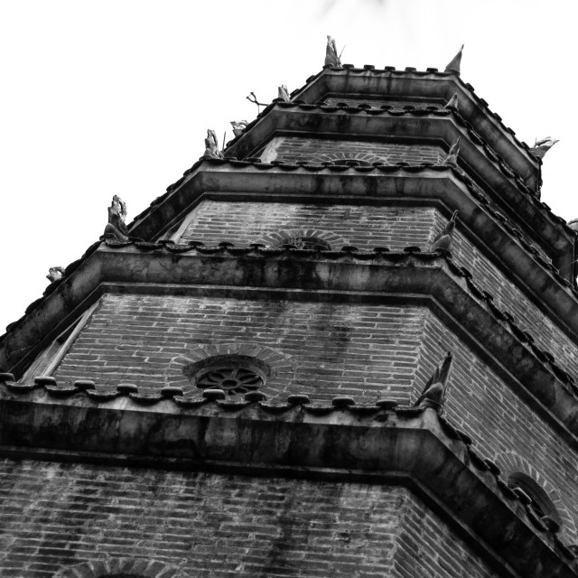 """""""Blacky Pagoda"""" stock image"""