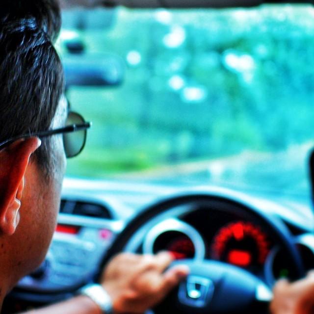 """Backseat Driver"" stock image"