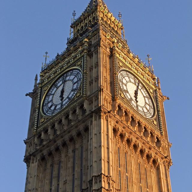 """Big Ben (Elizabeth Tower), London"" stock image"